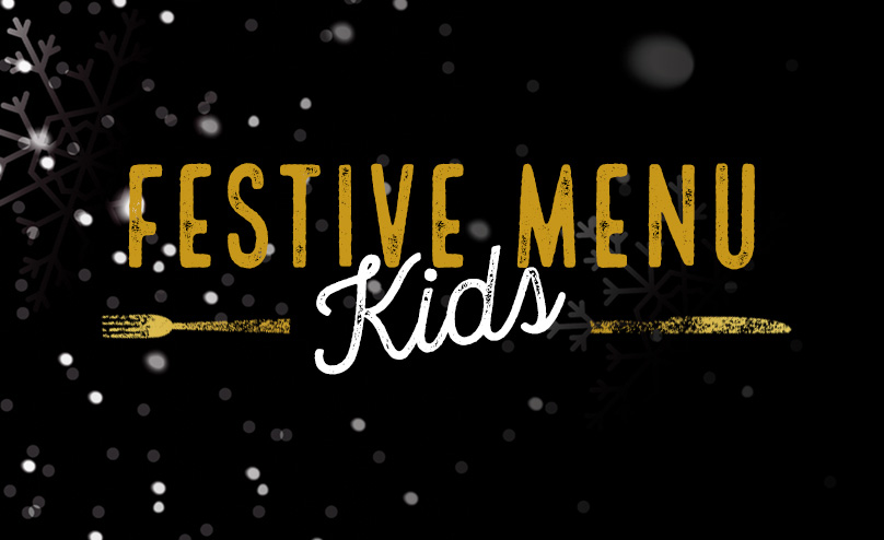 Festive Kids Menu at The Eli Jenkins